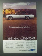 1979 Chevrolet Caprice Sedan Ad - The Smooth, Quiet Road to the Top - $14.99