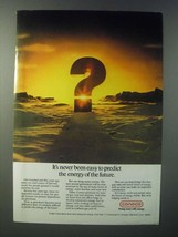 1979 Conoco Oil Ad - It's Never Been Easy to Predict - $14.99