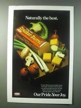 1979 Kraft Cracker Barrel Cheese Ad - Naturally the Best - $14.99
