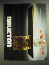 1985 Brueton Off-Beam Console Table Ad - designed by J. Wade Beam - $14.99