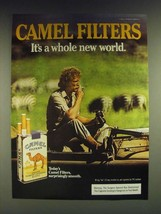 1985 Camel Filters Cigarettes Ad - Camel Filters it's a whole new world - $14.99
