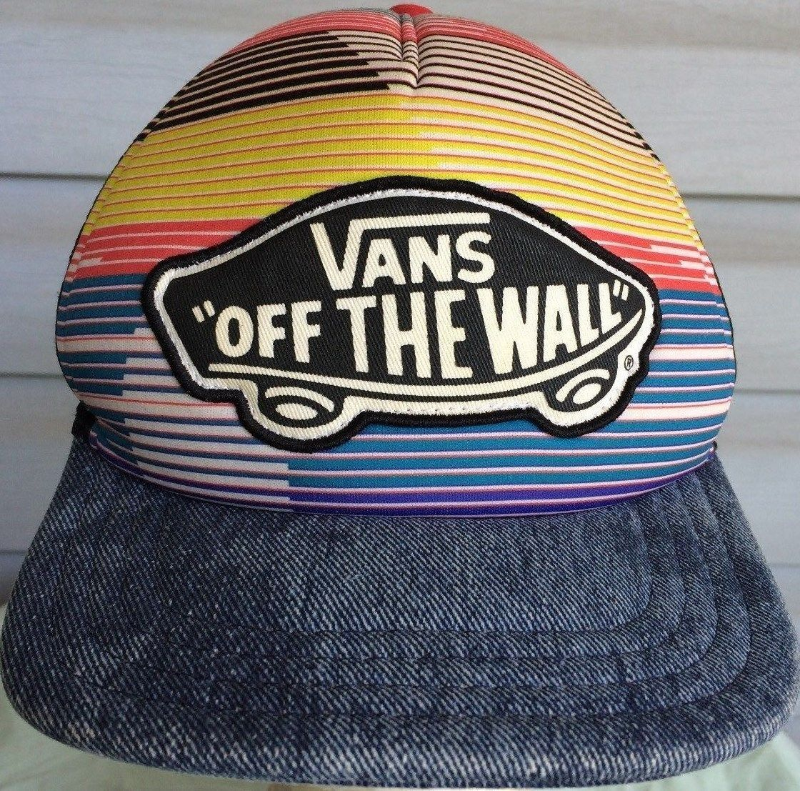 2fe81ad1e98 Adult Multi Colored Vans Off The Wall and 50 similar items