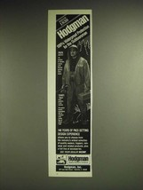 1985 Hodgman 3920 Jacket and 13401 Wade-Well Waders Ad - Hodgman 100%  - $14.99