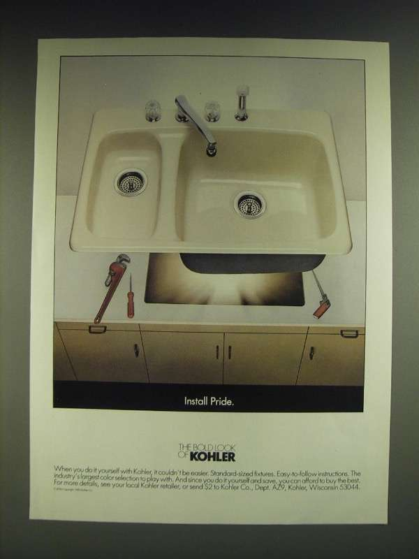 Kohler Ad (1980s): 30 listings