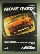 1985 Nissan 300 ZX Car Ad - Move over! - $14.99