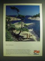 1985 Ontario Canada Ad - Blue Horizons - $14.99
