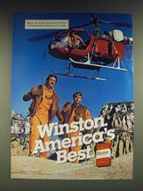 1985 Winston Cigarettes Ad - Winston America's Best - $14.99