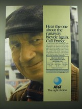 1988 AT&T Long Distance Ad - Hear the One About the Runaway Bicycle - $14.99