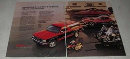 1988 GMC S-15 Jimmy Truck Ad - What's Your Pleasure? - $14.99