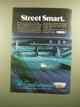1988 GM Goodwrench Genuine GM Parts Ad - Street Smart - $14.99