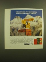 1988 Michelin Maps and Guides Ad - The Last Thing You Should Feel is For... - $14.99