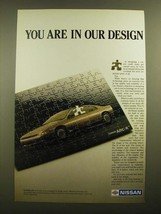 1988 Nissan ARC-X Car Ad - You Are in Our Design - $14.99