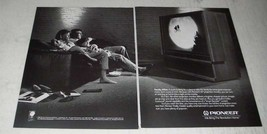 """1988 Pioneer 50"""" Projection Monitor TV Ad - Family Affair - $14.99"""
