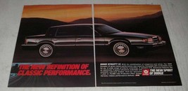 1989 Dodge Dynasty LE Car Ad - The New Definition of Classic Performance - $14.99