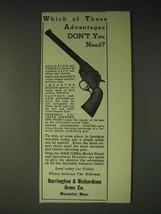 1936 Harrington & Richardson H&R USRA Model Pistol Ad - Which of these  - $14.99