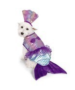 Iridescent Mermaid Dog Costume - $414,22 MXN+