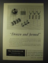 1943 Ucinite Co. Ad - Drawn and formed - $14.99