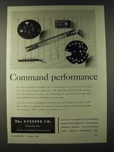 1943 Ucinite Laminated Bakelite Assemblies Ad - Command performance - $14.99