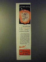 1943 Westinghouse X-Ray Ad - Look inside with X-ray - $14.99