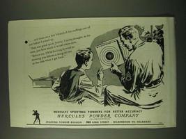 1945 Hercules Powder Company Ad - Hercules Sporting Powders for Better A... - $14.99