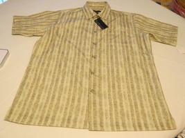 Van Heusen Mens short sleeve button up shirt M 15-15 1/2 Weekend Prints NWT - $59.39