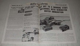 1942 Remington Palma Kleanbore and Police Targetmaster Ammunition Ad - Get off  - $14.99