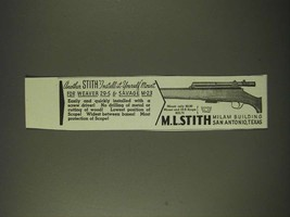 1942 Stith Mounts Ad - Another Stith install-it-yourself mount for Weave... - $14.99