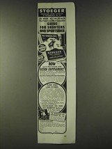 1942 Stoeger Arms Corp. Ad - In War as in Peace - $14.99