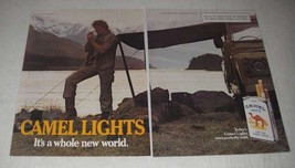 1984 Camel Lights Cigarettes Ad - Camel Lights It's a whole new world - $14.99