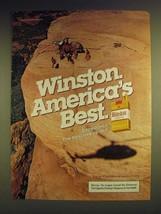 1984 Winston Cigarettes Ad - Winston. America's Best - $14.99