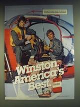 1984 Winston Cigarettes Ad - $14.99