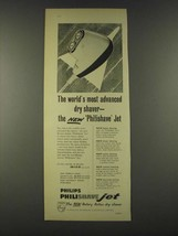 1959 Philips Philishave Jet Shaver Ad - The world's most advanced dry shaver - $14.99