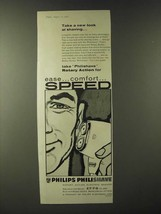 1960 Philips Philishave Ad - Take a new look at shaving - $14.99