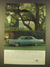 1963 Cadillac Car Ad - How much does a Cadillac Cost? - $14.99