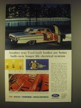 1963 Ford Cars Ad - Another way Ford-built bodies are better built-new longer  - $14.99