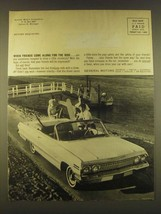 1963 General Motors Chevrolet Convertible Ad - When Friends come along - $14.99