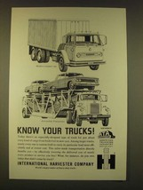 1963 IH International Harvester Truck Ad - Compact Van, Automobile Transporter - $14.99