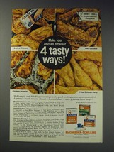 1963 McCormick-Schilling Spices Ad - Make your chicken different 4 tasty ways! - $14.99