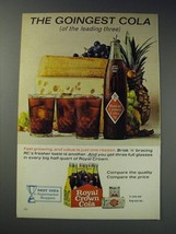 1963 Royal Crown Cola Ad - The goingest cola (of the leading three) - $14.99