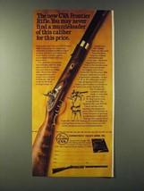1980 CVA Connecticut Valley Arms Frontier Rifle Ad - NICE - $14.99