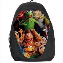 backpack school bag fozzie bear muppet kermit miss piggy gonzo - $39.79