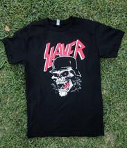 Slayer monkey skull tshirt - $12.99