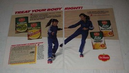 1983 Del Monte Lite Fruit and Vegetables Ad - Treat your body right! - $14.99