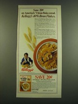 1983 Kellogg's 40% Bran Flakes Cereal Ad - Save 20 - $14.99