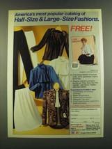 1983 Lane Bryant Fashion Ad - America's most popular catalog - $14.99