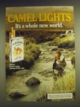 1984 Camel Lights Cigarettes Ad - It's a whole new world - $14.99
