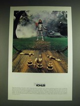 1984 Kohler IV Georges Brass Faucet Ad - The bold look of Kohler - $14.99