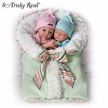 "* ""Madison And Mason"" Poseable Twin Baby Doll Set*  - $211.07"