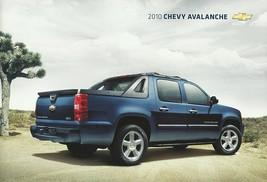 2010 Chevrolet AVALANCHE sales brochure catalog US 10 Chevy LS LT LTZ - $9.00
