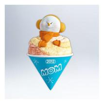 Mom 2012 Hallmark Christmas Ornament - Family - SnowCone - Snowman - Ice... - $6.90